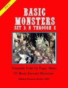 PM4 Basic Monsters Set 3