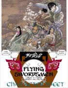 Flying Swordsmen RPG Character Sheet