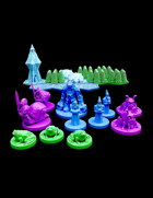 Pocket-Tactics: Wizzards of the Crystal Forest