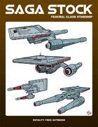 Saga Stock (Federal Class Starship)