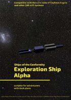 Exploration Ship Alpha (Ships of the Conformity)