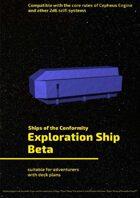 Exploration Ship Beta (Ships of the Conformity)