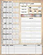 CREEPYPASTA Cryptid Character Sheet