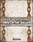 Adventure Path Iconics: Path of the Wicked (PFRPG)