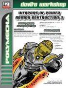 Weapons of Power Armor Destruction 3 (D20 Future)