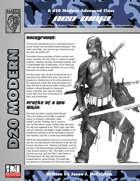 Prototype: Neo-Ninja (D20 Modern)