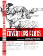 Covert Ops Feats (D20 Modern)