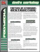 Tactics of Starship Destruction (D20 Future)