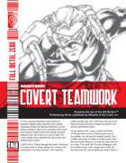 Covert Teamwork (D20 Modern)