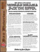 Victorian Horrors: Jack the Ripper