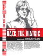 Hack the Matrix (D20 Modern)