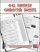 OGL Fantasy Character Sheets