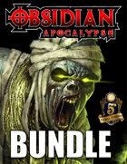 Obsidian Apocalypse 5E Bundle [BUNDLE]