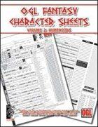 OGL Fantasy Character Sheets Volume 2: Humanoids