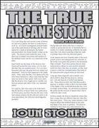The True Arcane Story: Ioun Stones