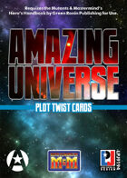 Amazing Universe Plot Twist Cards (Super-Powered by M&M)