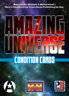 Amazing Universe Condition Cards (Super-Powered by M&M)