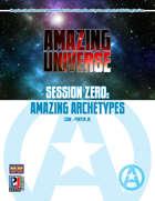 Session Zero: Amazing Archetypes (Super-Powered by M&M)