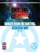 Danger Room Encounters: Assassin War (Super-Powered by M&M)