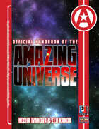 Official Handbook of the Amazing Universe: Nesha Ivanova & Eiji Kanda (Super-Powered by M&M)