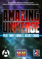 Amazing Universe Plot Twist Cards 2: Secret Crisis (Super-Powered by M&M)