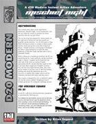 Instant Action: Mischief Night (D20 Modern)