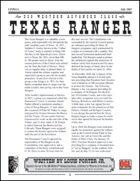 Prototype: Texas Ranger