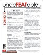 Undefeatable 2: Clerics (PFRPG)