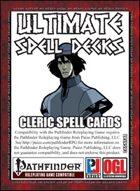 Ultimate Spell Decks: Cleric Spell Cards (PFRPG)