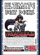 Ultimate Feat Decks: NeoExodus: A House Divided (PFRPG)