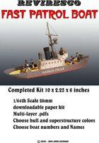 Fast Patrol Boat 1/64th Scale