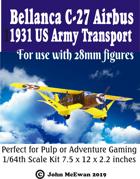 Bellanca C-27C Airbus 1931 US Army Transport