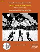 WK0 Night of the Mad Kobold (5E)