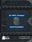 NPC Creator and Emulator