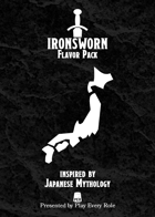 Japanese Mythology Flavor Pack (for the Ironsworn system)