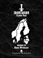 Norse Mythology Flavor Pack (for the Ironsworn system)