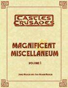 Magnificent Miscellaneum Vol. 1