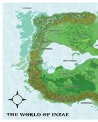 Inzae World Map