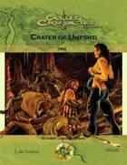 Castles & Crusades DB2: Crater of Umeshti