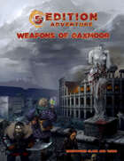 5th Edition -- Weapons of Gaxmoor