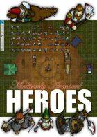 Medium Armored Heroes Tokens