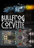 Spaceship Map - Bullfrog Corvette