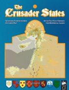 Crusader States - Hex Grid Map
