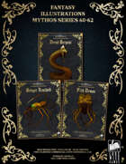 Fantasy Art - Mythos Series (60-62) [BUNDLE] , from $29.97 to $14.99