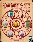 Fantasy Art - Potions Set 2