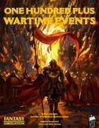 1d100 Plus Wartime Events