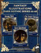 Fantasy Art - Dark Gothic Series (66-68) [BUNDLE]