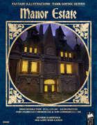 Dark Gothic Art - Manor Estate