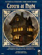Dark Gothic Art - Tavern at Night