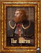 Portrait Art - Nobles - The Baron